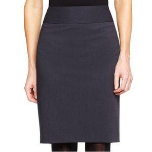 EUC Liz Claireborn Charcoal Gray Pencil Skirt